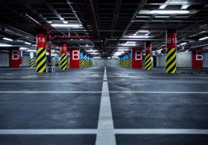Charlotte parking garage