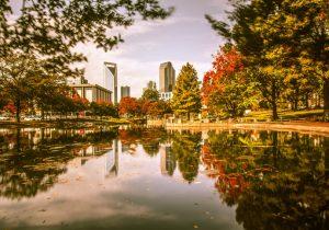Charlotte in fall season
